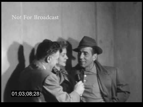 Ship's Reporter Interview: Humphrey Bogart and Lauren Bacall