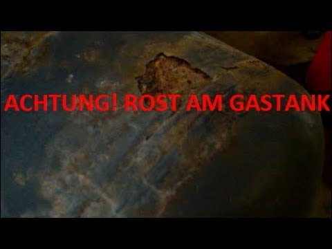 Autogas Oldtimer mit H Kennzeichen - Gastank verros ...