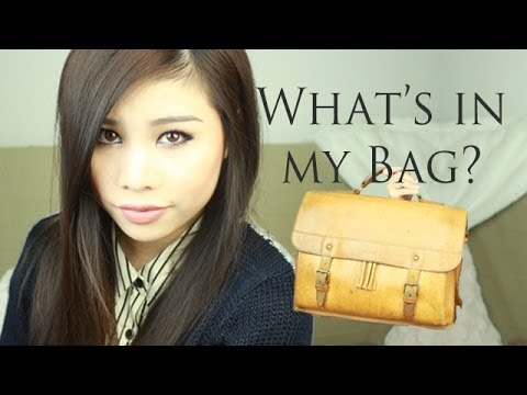 Must Haves für die Uni? | What's in my Bag? | Kisu