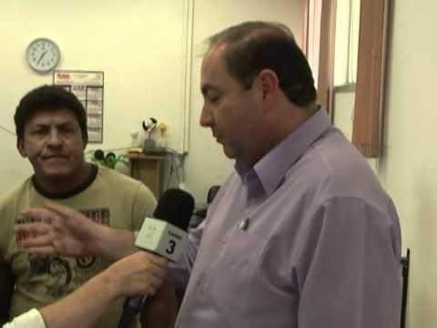 cpfl e Comas entregam geladeira para morador da Vil Garcia em Votorantim cobertura tv cidade por Renata Cibele
