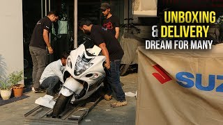 9. Suzuki Hayabusa 2017 Unboxing India