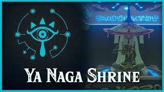 Zelda Breath of the Wild • Ya Naga Shrine • Lake