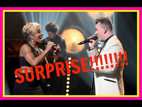 MARY J. BLIGE SURPRISES SAM SMITH IN NYC!!!!