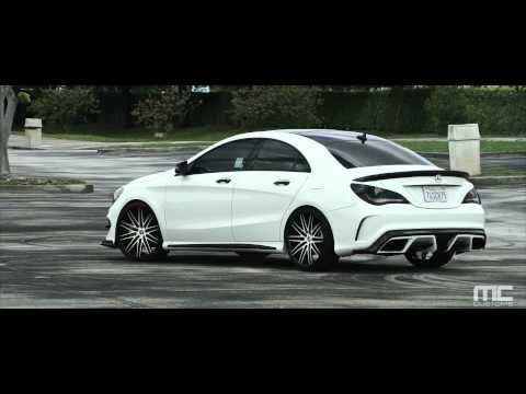 MC Customs   Mercedes Benz CLA 250 • Vossen Wheels