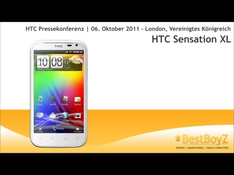 Youtube Video HTC Sensation XL Vodafone Ware in white mit Beats Audio inkl. Beats-in-Ear-Headset