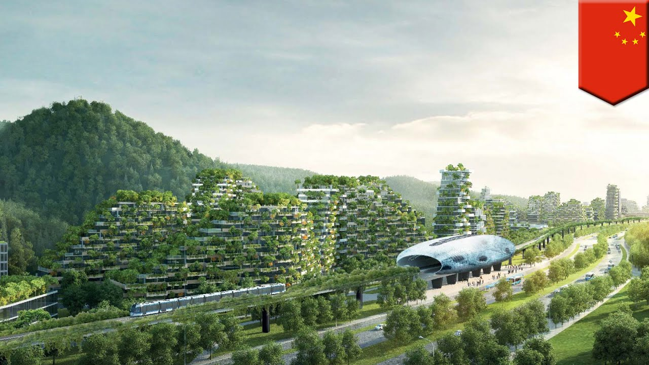 World's first Forest City under construction in China, runs on renewable energy – TomoNews