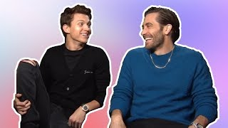 Video tom holland & jake gyllenhaal having the best (b)romance for 7 min straight MP3, 3GP, MP4, WEBM, AVI, FLV Juli 2019