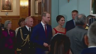 Cambridge (ON) Canada  city photos : Duchess of Cambridge stuns in red at historic ceremony in Canada