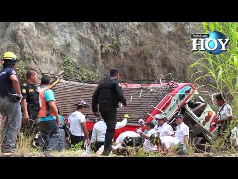 Tragedia en San Martín Jilotepeque, Chimaltenango, en accidente que dejó 44 muertos