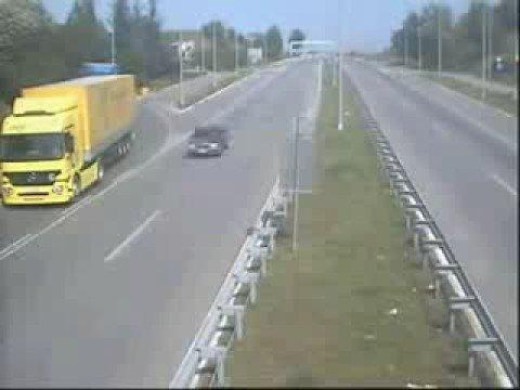 da non credere - assurda manovre in autostrada