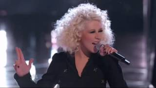 Christina Aguilera (Team XTINA) - Medley Michael Jackson