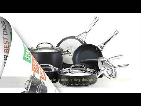 Circulon Infinite Hard Anodized 10 Piece Nonstick Cookware Set Review