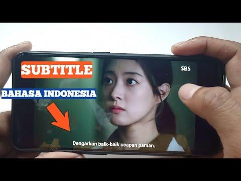 CARA MEMASUKKAN SUBTITLE INDONESIA KE FILM DI HP
