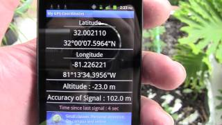 GPS coordinates and location YouTube video