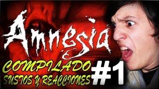 AMNESIA - COMPILADO DE SUSTOS Y REACCIONES #1 (Y MOMENTOS GRACIOSOS) - CON ALFREDITO