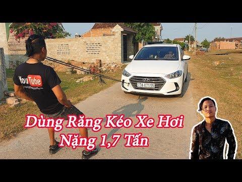 Black - Thử Thách Bản Thân - Dùng Răng Kéo Xe Hyundai Elantra Nặng 1,7 Tấn Và Cái Kết - Thời lượng: 10 phút.