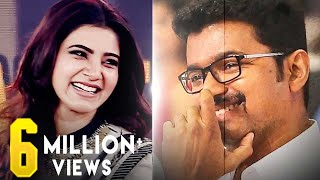 Video Samantha Marriage Meme - Vijay Laughs | Audience Laughs Louder! MP3, 3GP, MP4, WEBM, AVI, FLV November 2017