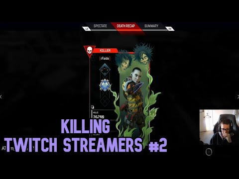 USING MOVEMENT TO KILL TWITCH STREAMERS IN APEX LEGENDS #2