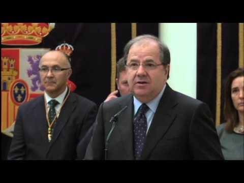 Vídeo completo del discurso de Juan Vicente Herrera tras tomar posesión al frente de la Junta. / Jta.