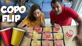 COPO-FLIP CHALLENGE! O MELHOR DESAFIO DA INTERNET!
