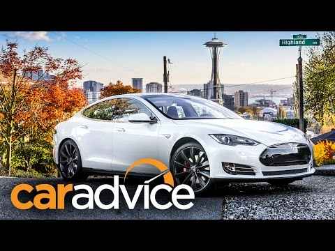 tesla - http://www.caradvice.com.au/322360/?yt_desc - Read the article here. The plan: to drive from Seattle to Los Angeles, a trip of more than 1800 kilometres – al...