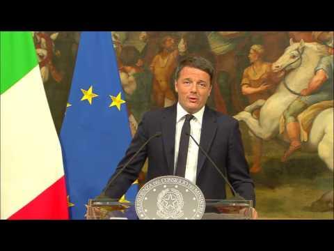 """referendum: l'ultimo discorso da premier di renzi dopo il """"no"""""""