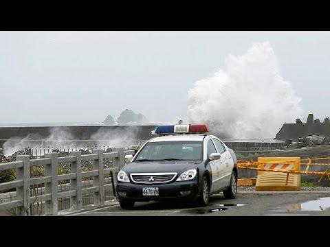 Ταϊβάν: Πλησιάζει ο υπερ- τυφώνας Νεπαρτάκ