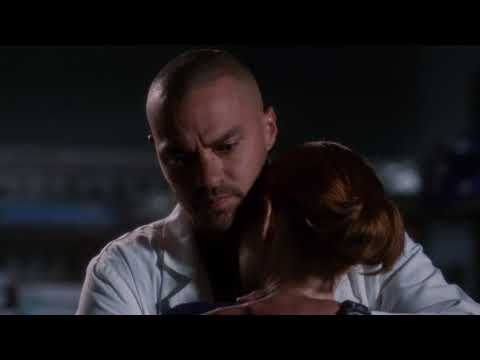 Jackson Tries To Console April – Grey's Anatomy Season 14 Episode 16
