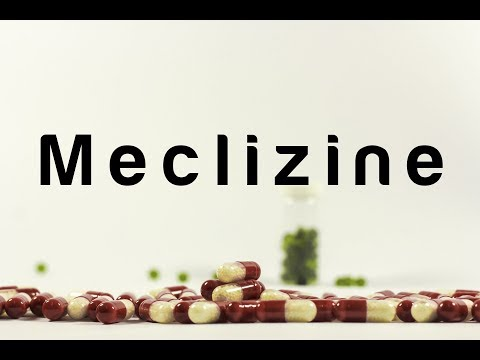 Meclizine (Dramamine) : Meds Made Easy (MME)