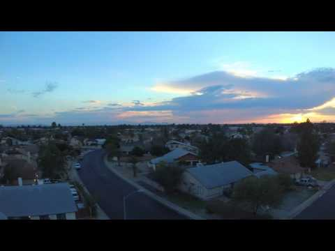 Yuneec Breeze - Phoenix Sunset in 4k