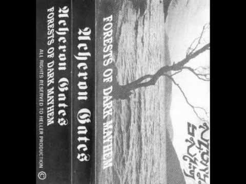 Acheron Gates - Splitting the Infested Womb (1993) (Underground Black Metal Israel)