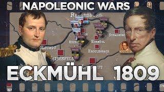 Napoleonic Wars - Battle of Eckmühl 1809 DOCUMENTARY