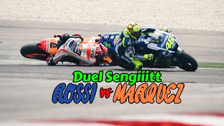 Video Saling Sikut Rossi versus Marquez di MotoGP 2015 MP3, 3GP, MP4, WEBM, AVI, FLV April 2018