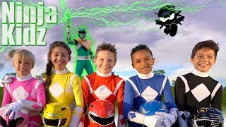 Video POWER RANGERS NINJA KIDZ! | Season 2 MP3, 3GP, MP4, WEBM, AVI, FLV Juli 2018