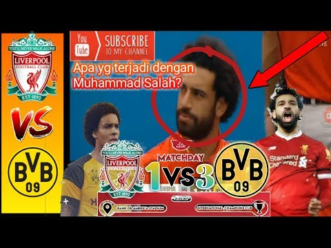 Highlights [1-3] LiverPool VS Dortmund Hasil Pertandingan Sepak Bola