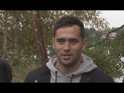Александр Кержаков поддержал популяцию лосося в Карелии