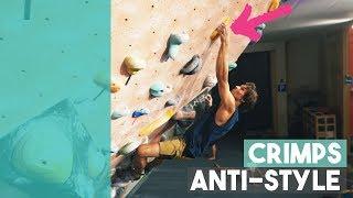 Powerful V11 Climbing - Crimp VS Slopers - Emil by Eric Karlsson Bouldering
