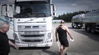 Volvo DFC kvalifikācijas braucieni