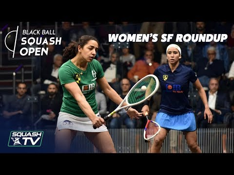Squash: Women's Black Ball Open 2019 - Semi-Final Roundup