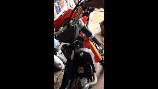 10. Install a PC fan on an 07 KTM 400 XC-W Motorcycle CHEAP