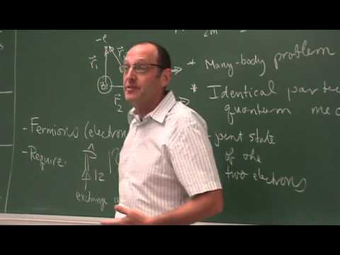 UNM Phys 531 2011   Lec08   Helium and two electron atoms