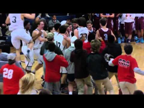 AWESOME: Team Manager Plays on Senior Night