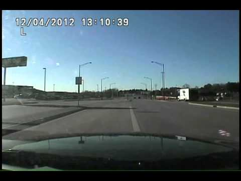 Wausau WI Police-Dashcam #2 Concealed carry motorist fends off attackers after road rage incident on Highway 29 west of Wausau 12-4-2012.