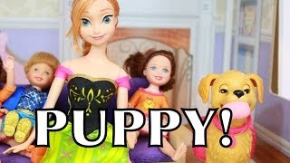 Frozen Anna&Kids name PUPPY Zoe Disney Barbie Doll Toys PLAY-DOH Playdough AllToyCollector
