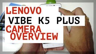 Lenovo K5 Plus Camera UI Overview