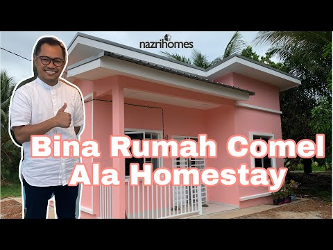 Bina Rumah Comel Ala Homestay | Design Minimalis