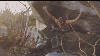 Jonas Winter in Fontainebleau - Big Island, Kheops assis, Gecko assis by Climb to Heaven