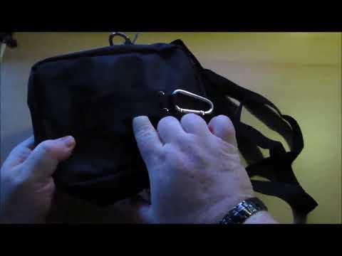 Hengwin Männer Kleine Umhängetaschen Nylon Mini Schultertasche Handtasche Handy Taschen, leichte, pr