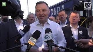 Prezydent Andrzej Duda w OSM Koło