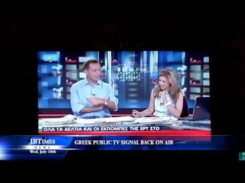 Greek Public TV Signal Back On Air